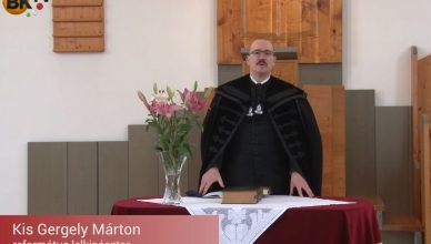 Kis Gergely Márton református pap