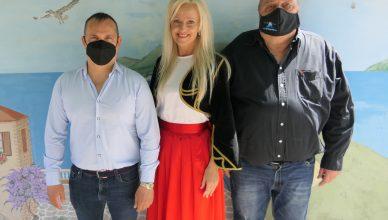 balról jobbra: Agárdi Bendegúz Szpírosz, Kakuk Kornélia, Szidiropulosz Vaszilisz