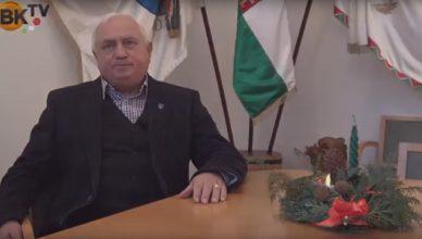 Kellemes karácsonyi ünnepeket kíván Budai István, Budajenő polgármestere