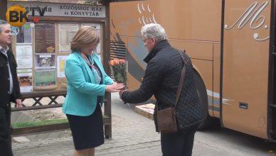Cseh polgármesterek Nagykovácsiban