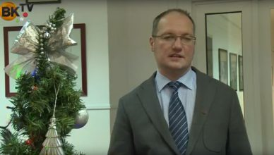Boldog karácsonyt kíván Farkas András, Piliscsaba polgármestere