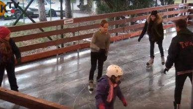 Jégpálya nyílt Budakeszin