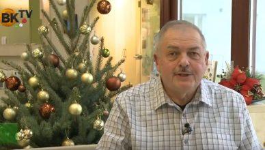 Krix Lajos karácsonyi köszöntője