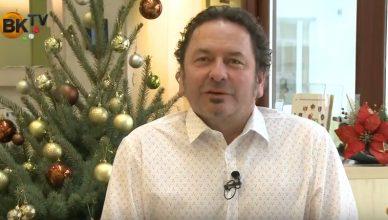 Boldog karácsonyt kíván Varga László, Perbál polgármestere