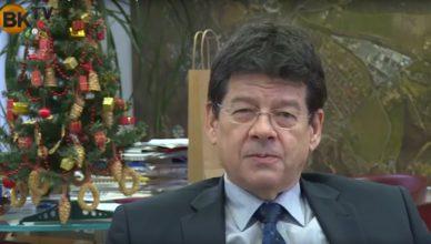 Boldog karácsonyt kíván Wittinghoff Tamás, Budaörs polgármestere